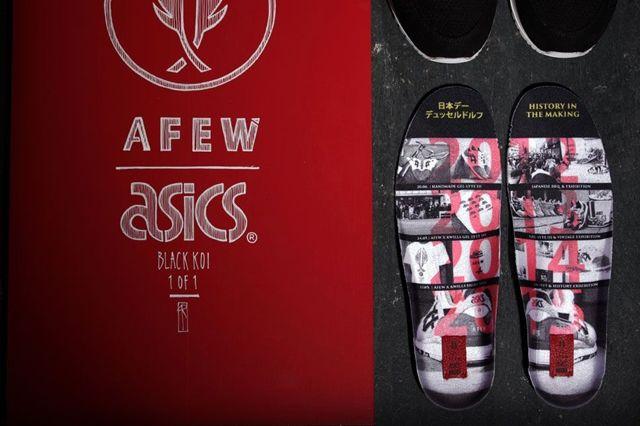 Afew Asics Gel Lyte 3 Black Koi 4