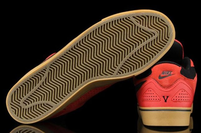 Nike Sb P Rod 5 Lr Hyper Red Outsole 1