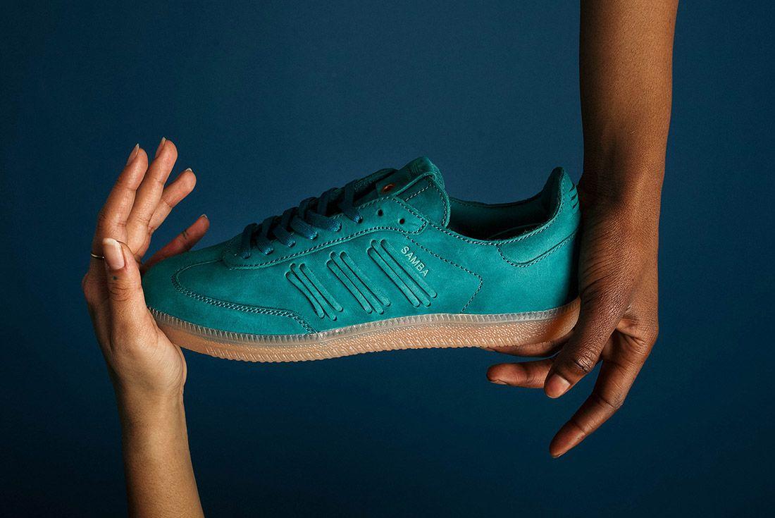 Adidas Consortium Womens Samba Deep Hue Pack Green 7