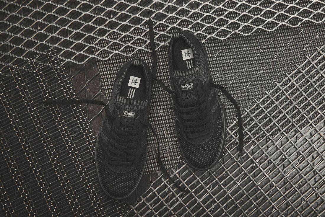 Adidas Lucas Premiere Adv Primeknit Triple Black 2