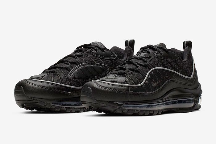 Nike Bring Back the Air Max 98 in Black, Twice - Sneaker Freaker