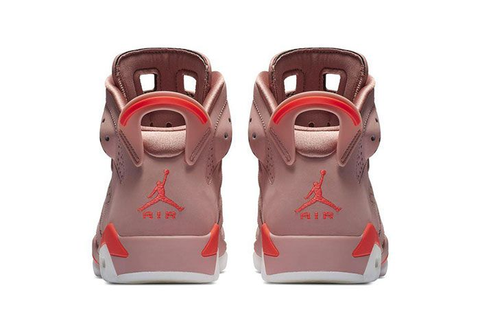 Aleali May Air Jordan 6 Heel