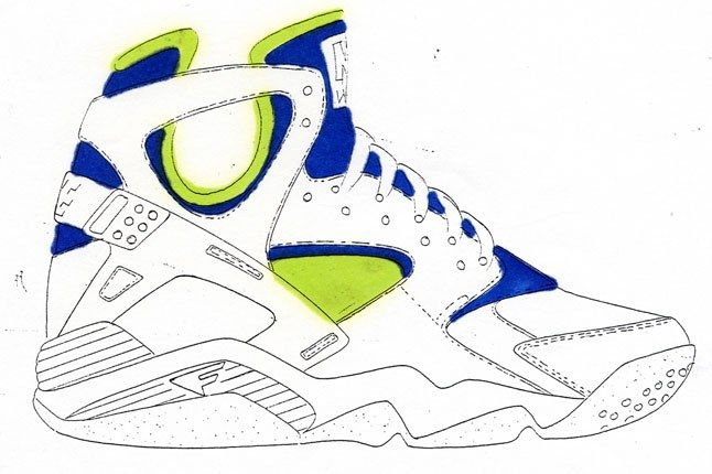 Nike Air Flight Huarache 32 1