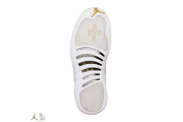 Drake Air Jordan Octobers Very Own White 12 Outsole