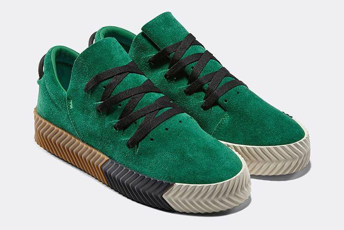 Alexander Wang Adidas Aw Skate Emerald Green 2