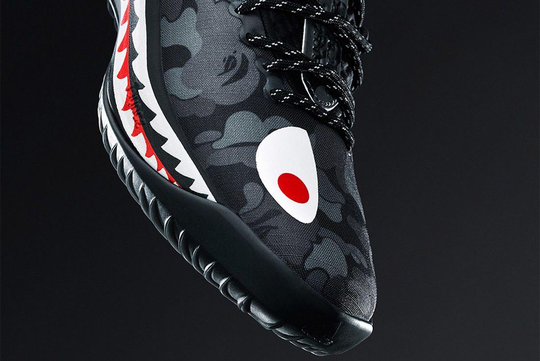 Bape Adidas Dame 4 Black Sneaker Freaker 2