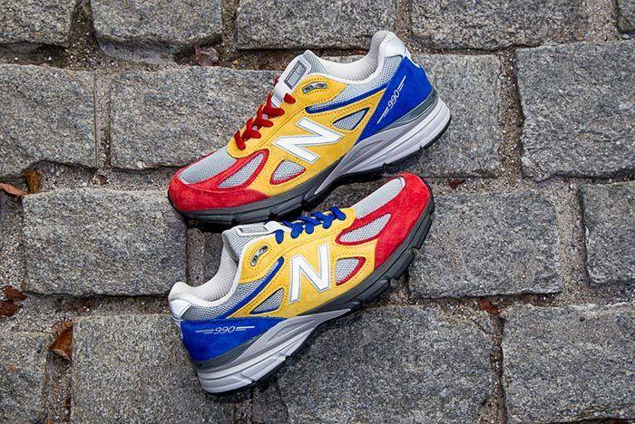 Shoe City X Eat X New Balance 990 V4 10