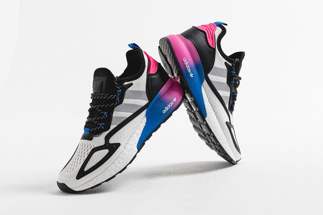 adidas ZX 2K BOOST hype dc blue pink