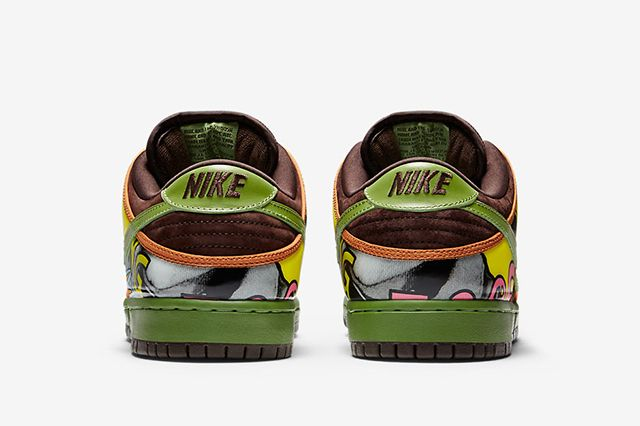 De La Soul Nike Sb Dunk Low 4