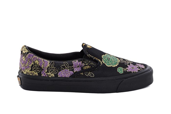 Opening Ceremony X Vans Slip On Qi Pao Pack3