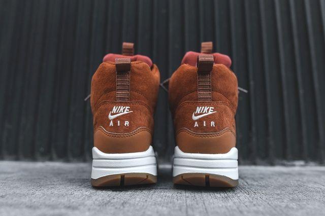 Nike Air Max 1 Mid Sneakerboot Tawny 3