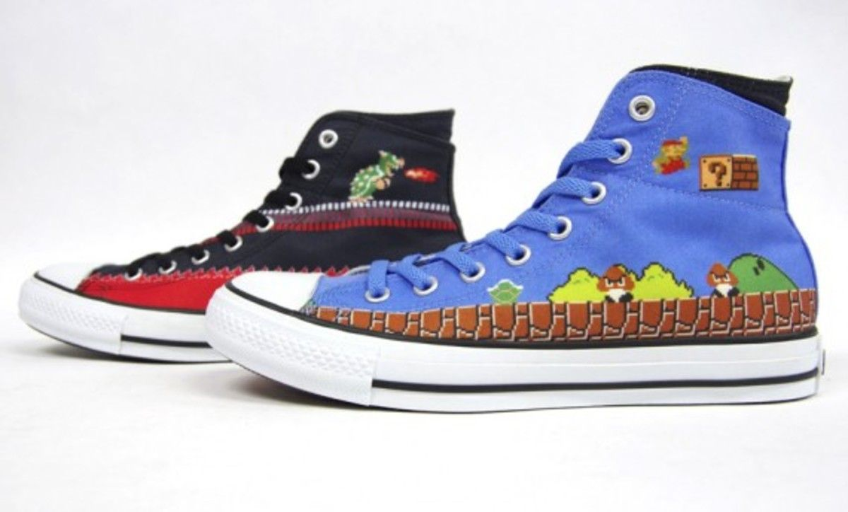 Converse All Star Super Mario Bros.