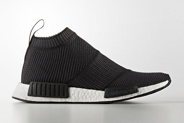 Adidas Nmd City Sock Black White2