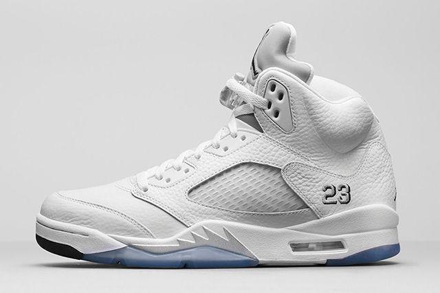 Air Jordan 5 White Metallic 21