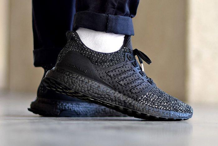 Adidas Ultra Boost Clima Ltd Carbon On Foot 2