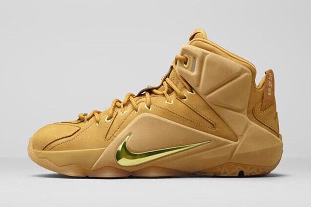 Nike Le Bron 12 Wheat