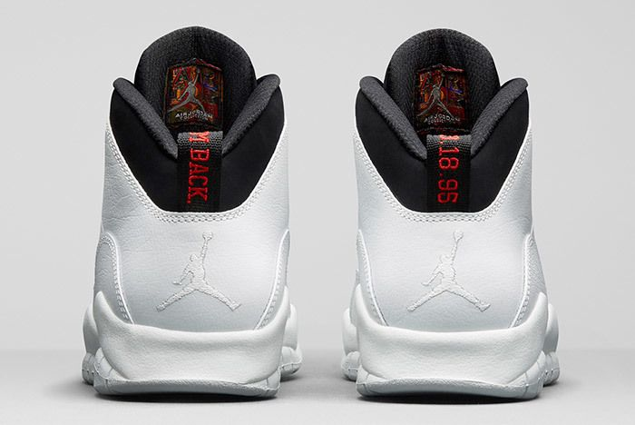Air Jordan 10 Im Back Summit White Black 4
