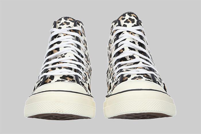 Converse Lucky Star High Leopard Toe