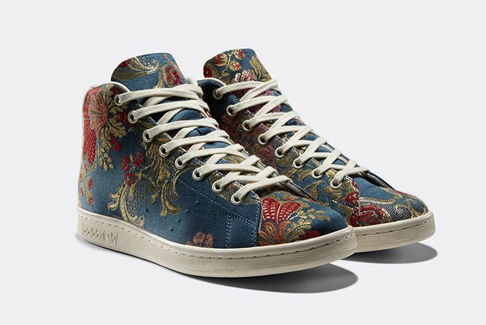 Adidas Pharrell Williams Stan Smith Mid Jacquard Floral 1