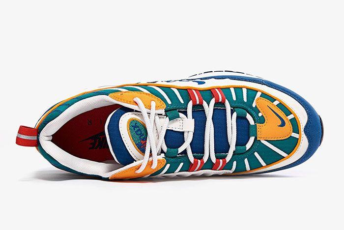 Nike Air Max 98 Womens Multi Color Ah6799 601 1 Top Shot 3