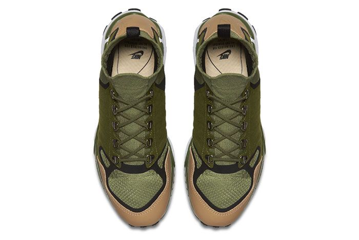 Nike Air Zoom Talaria Mid Flyknit Green Tan 1
