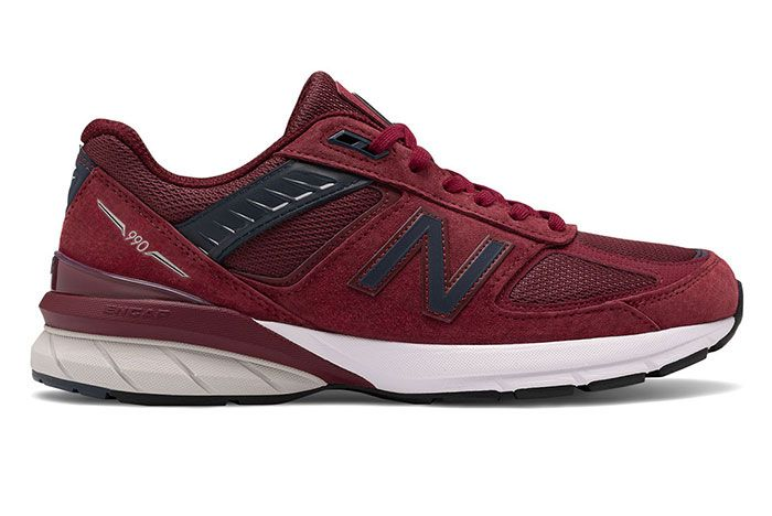 New Balance 990V5 M990Bu5 Burgundy Lateral
