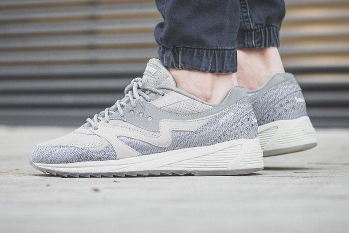 Saucony Grid 8000 Dirty Snow Feature