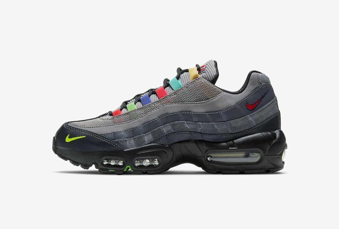 Nike Air Max 95 SE 'TV Colour Bars'