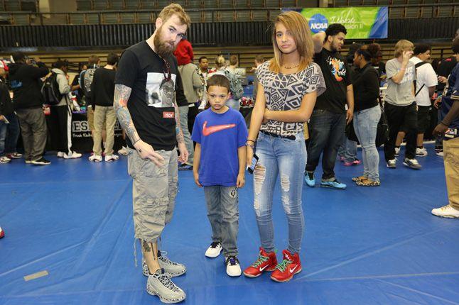 Sneaker Con Charlotte Family 1