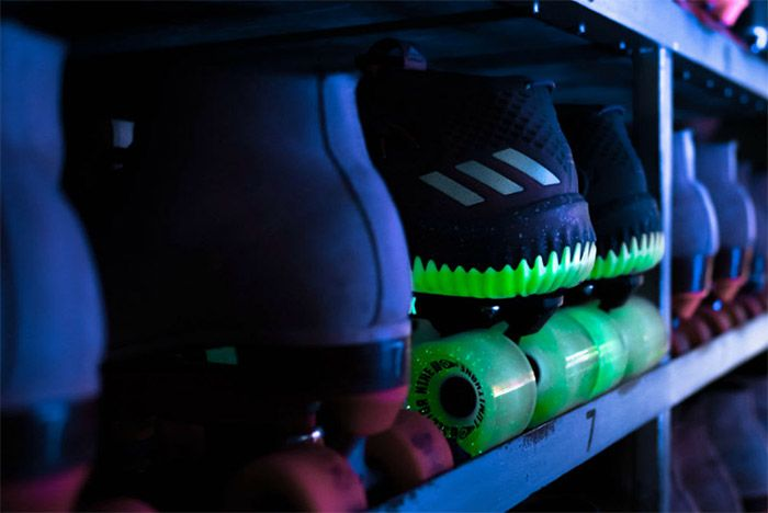 Adidas Dame 4 Glow In The Park 6
