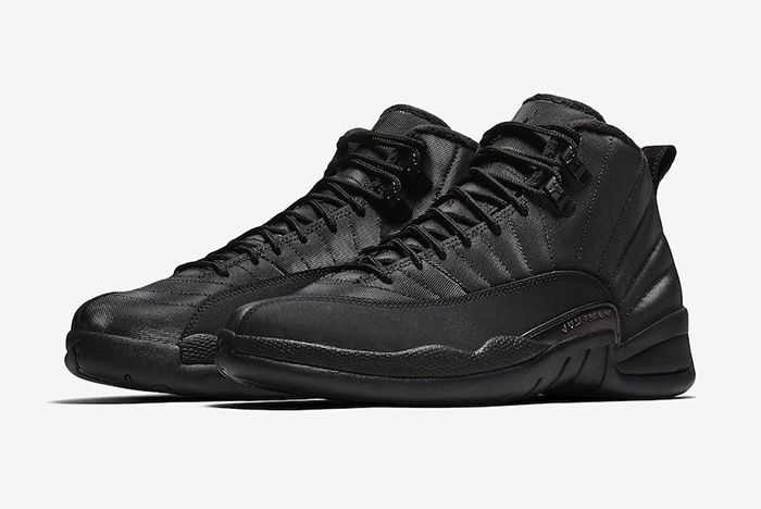 Air Jordan 12 Winterized Triple Black Official 1
