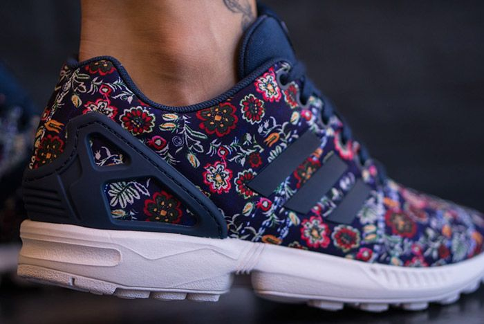 Farm Rio Adidas Zx Flux Womens 1