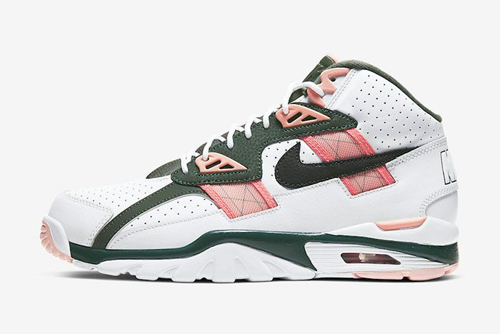 Nike Air Trainer Sc High Pink Green Cu6672 100 Lateral