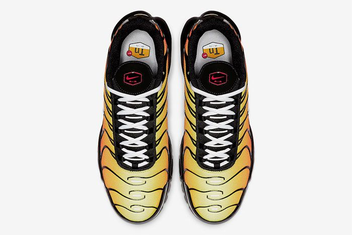 Nike Air Max Plus Tiger Black Orange Top
