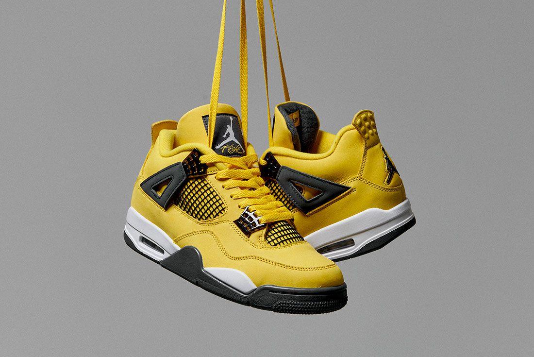 Air Jordan 4 Lightning JD Sports