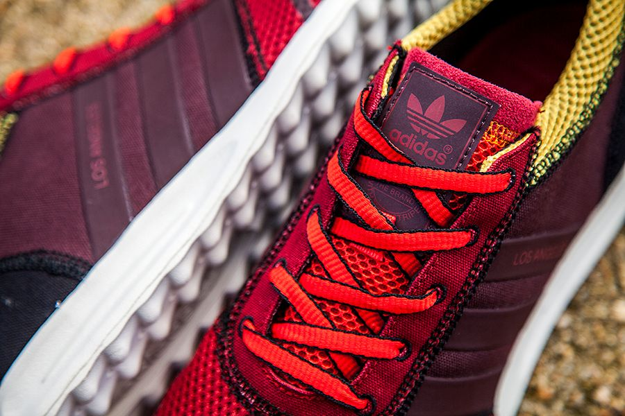 Adidas La Brown Yellow Mens 1