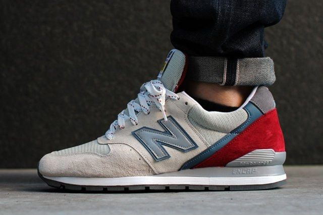 New Balance M996Pd Beige Red 1