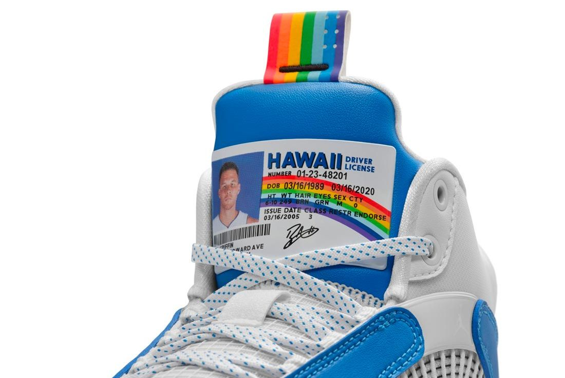 Blake Griffin Gives Some McLovin to the Air Jordan 35