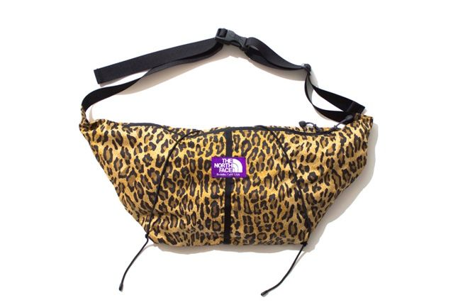 The North Face Purple Label Leopard Print Collection 2013 Shoulderbag 1