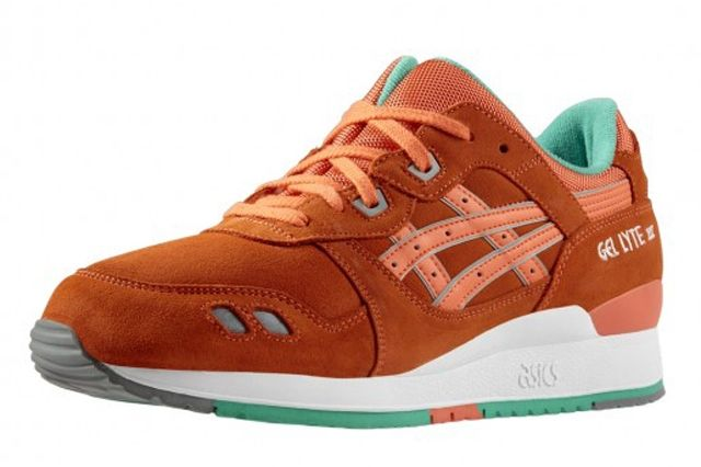 Asics Gel Lyte Iii Fresh Salmon 3