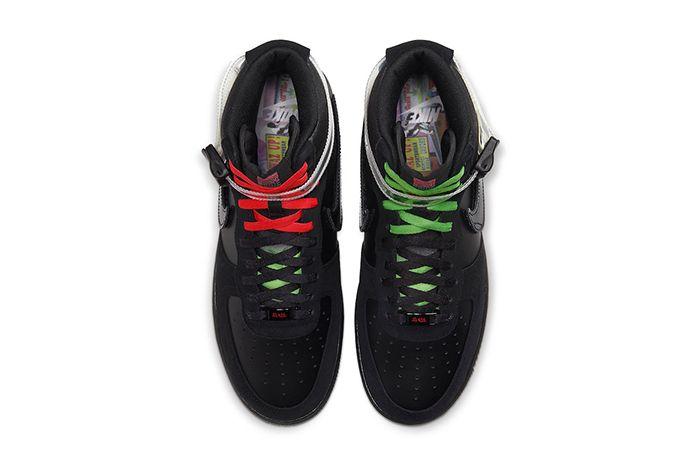 Lauren Halsey Nike Air Force 1 High Cu3052 001 Release Date Top Down
