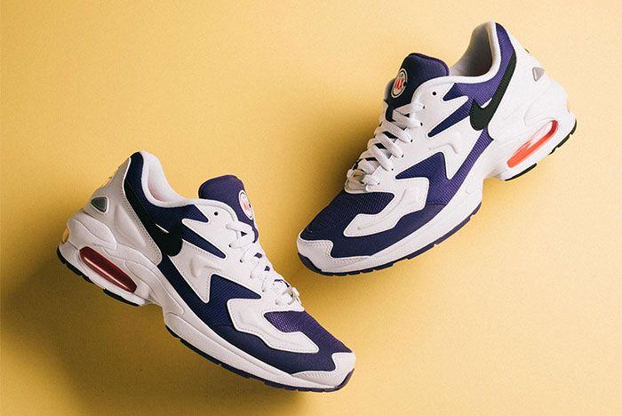Nike Air Max 2 Light Court Purple Pair