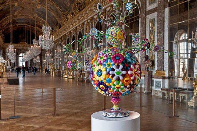 Takashi Murakami Exhibition Versailles 1 540X359 1