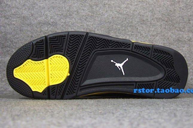 Air Jordan 14 Black Yellow 1