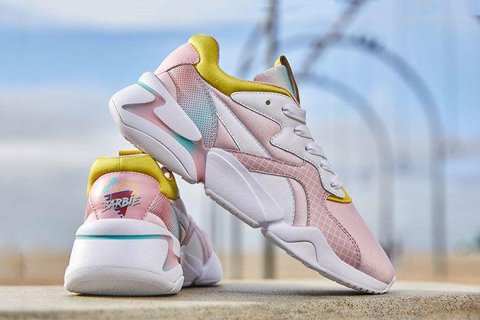 Barbie X Puma Nova Pink Side1