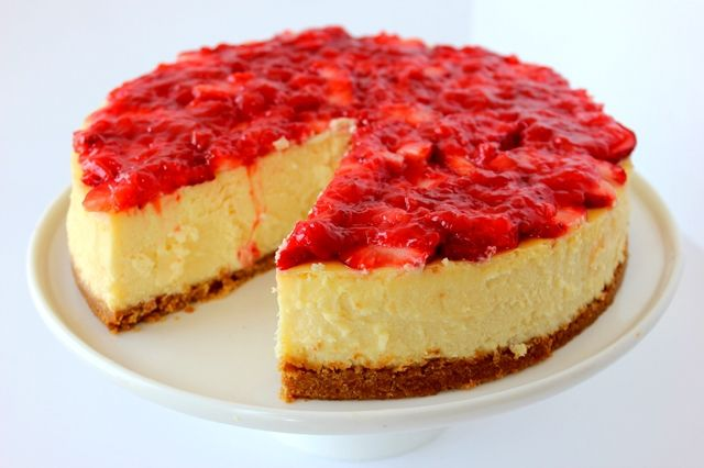 Newyork Strawberry Cheesecake Sweets Of The World 1