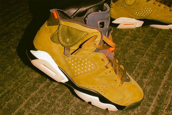 Air Jordan Six Travis Scott Super Bowl 1