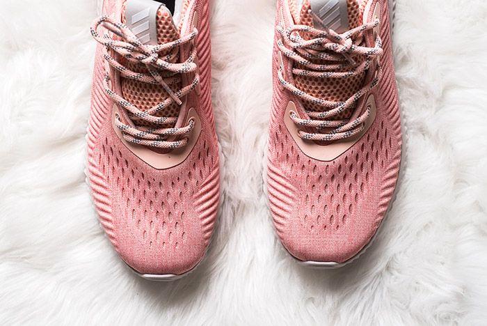 Adidas Alphabounce Pink Womens 6