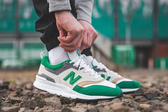 New Balance 997H Celtic On Foot 2