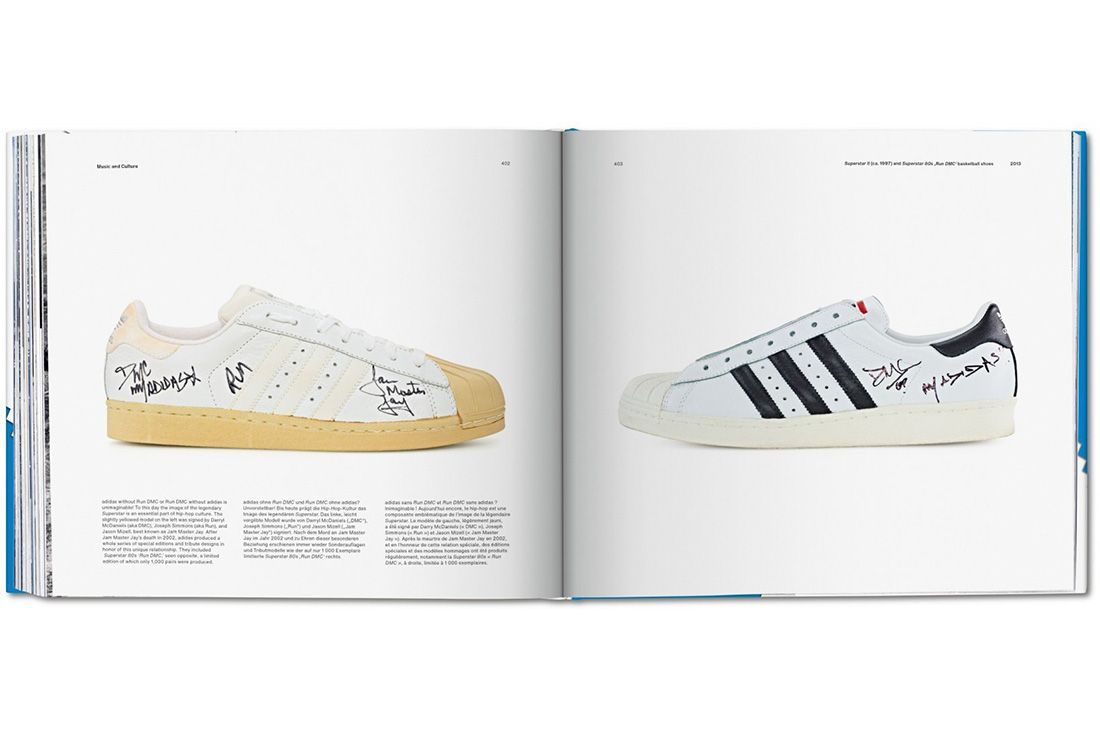 Adidas Taschen Book Superstar